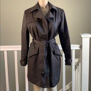 New York & Company Trench Coat sz. M color brown